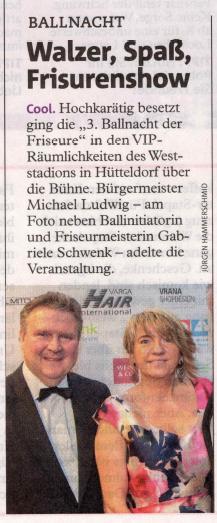 Friseurball 2020 im Bezirksblatt Wien